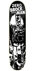 Zero Brockman Wrath R7 - Black - 8.375 - Skateboard Deck