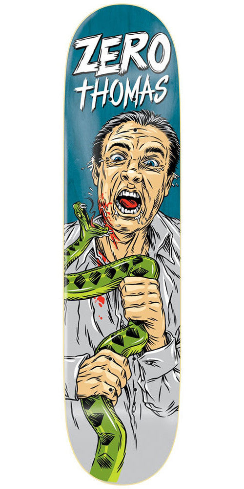 Zero Jamie Thomas Animal Attack Impact Light - Blue - 8.25 - Skateboard Deck