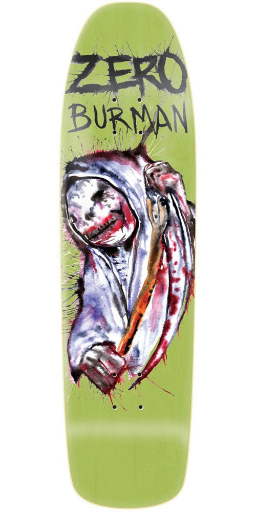 Zero Dane Burman Reaper R7 - Green - 8.5 - Skateboard Deck
