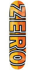 Zero Boserio Signature Bold R7 - Yellow/Orange - 8.375in - Skateboard Deck
