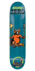 Zero Boserio Life's a Beach R7 - Blue - 8.25in - Skateboard Deck