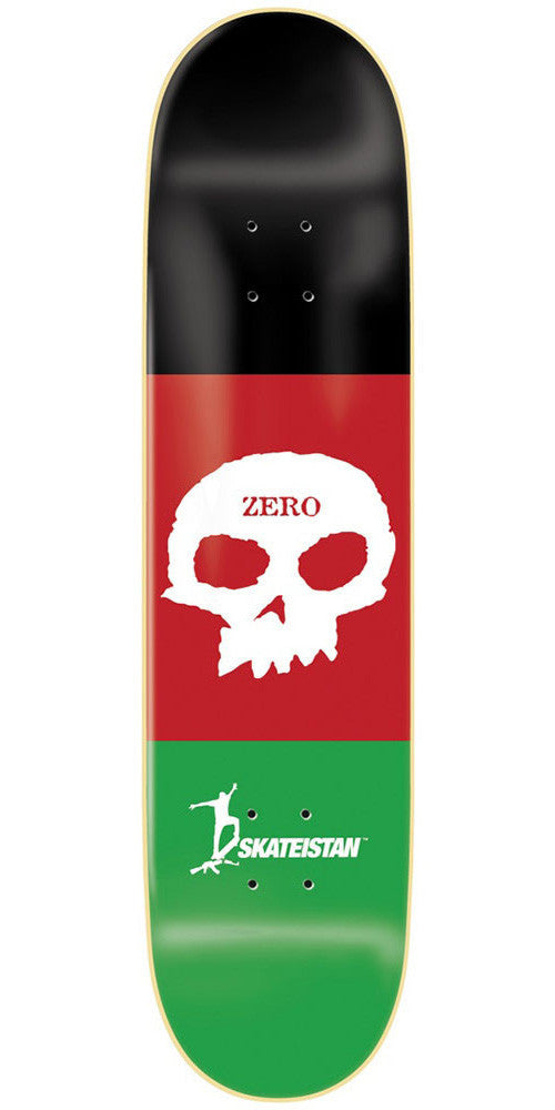 Zero Skateistan Single Skull R7 - Multi - 8.375in - Skateboard Deck