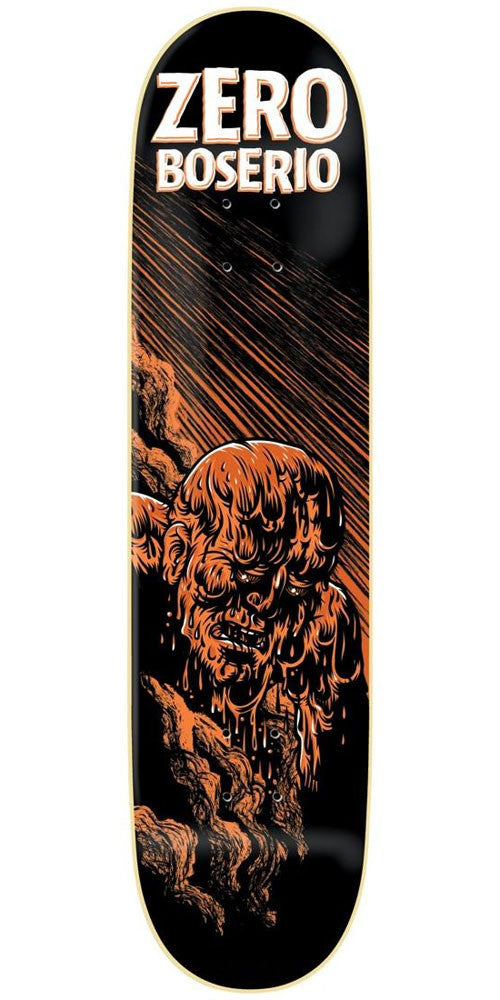Zero Nick Boserio Apocalypse IL - Black/Orange - 8.5in - Skateboard Deck