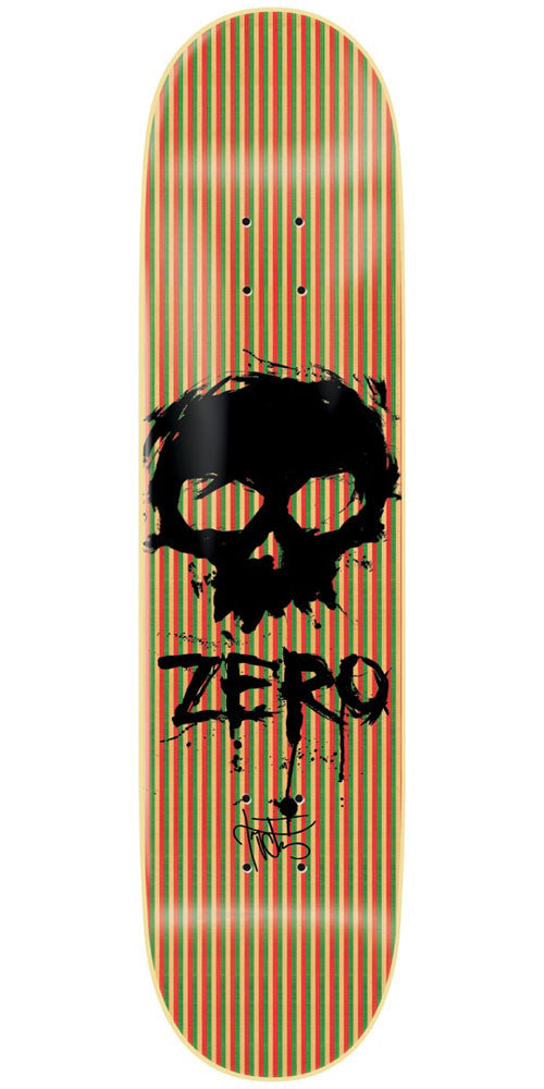 Zero Cervantes Blood Skull VPly - Multi - 8.375in - Skateboard Deck