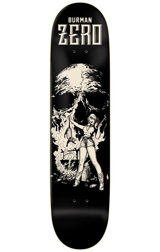 Zero Dane Burman Easyriders R7 - Black - 8.625in - Skateboard Deck