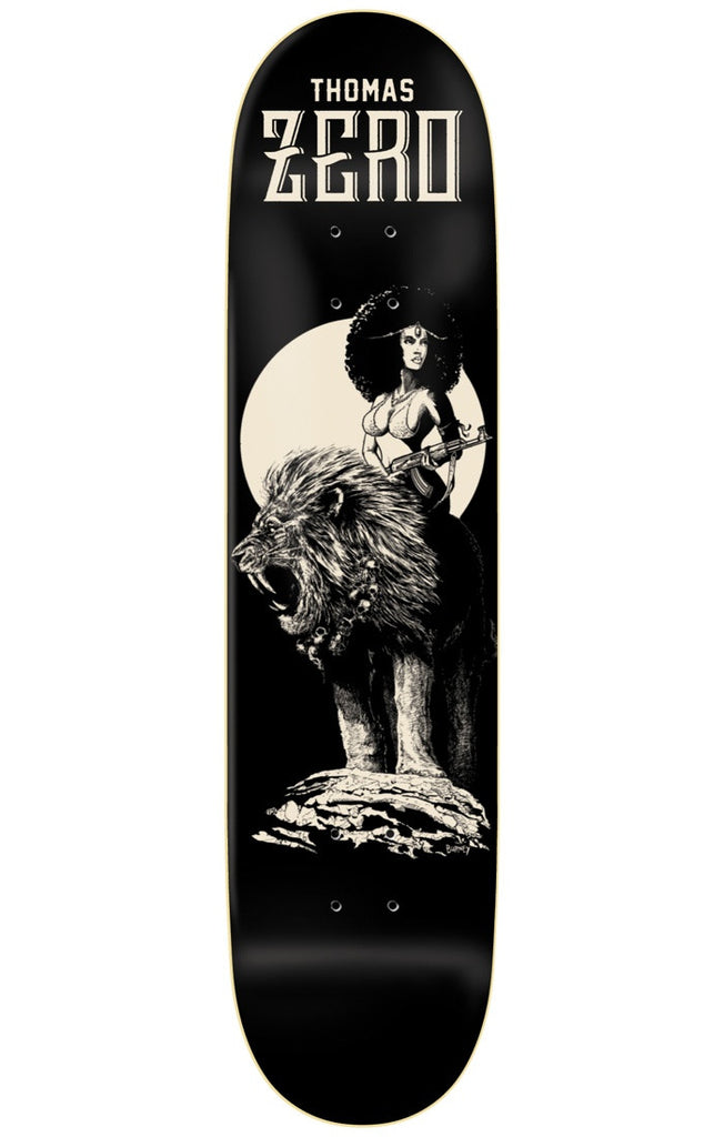 Zero Jamie Thomas Easyriders R7 - Black - 8.375in - Skateboard Deck