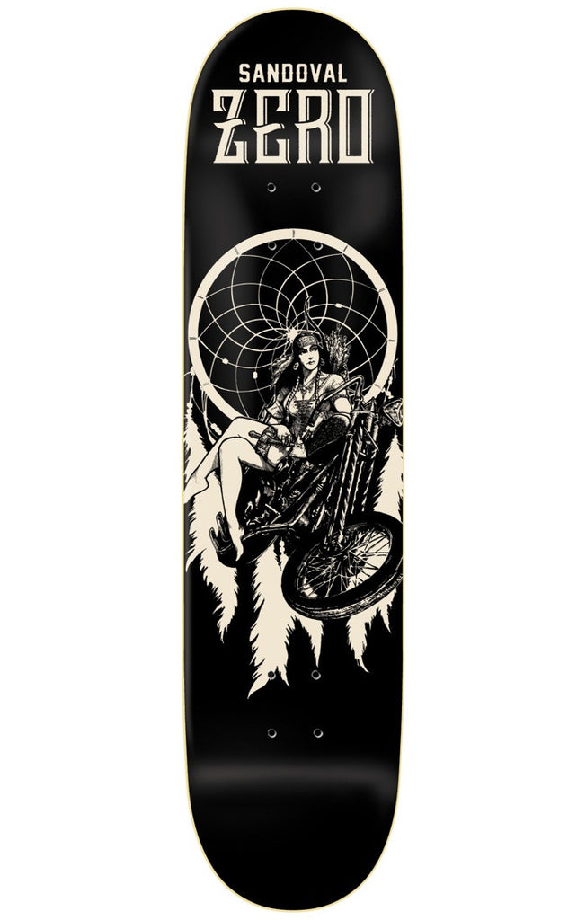 Zero Tommy Sandoval Easyriders R7 - Black - 8.5in - Skateboard Deck