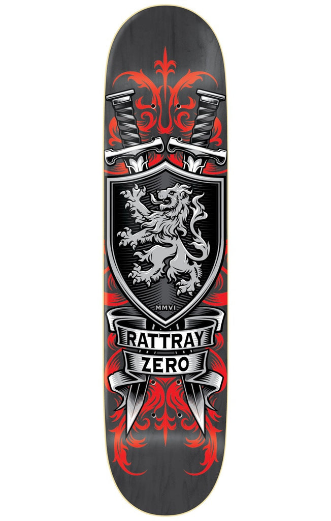 Zero John Rattray MMVI Reissue R7 - Black - 8.5in - Skateboard Deck