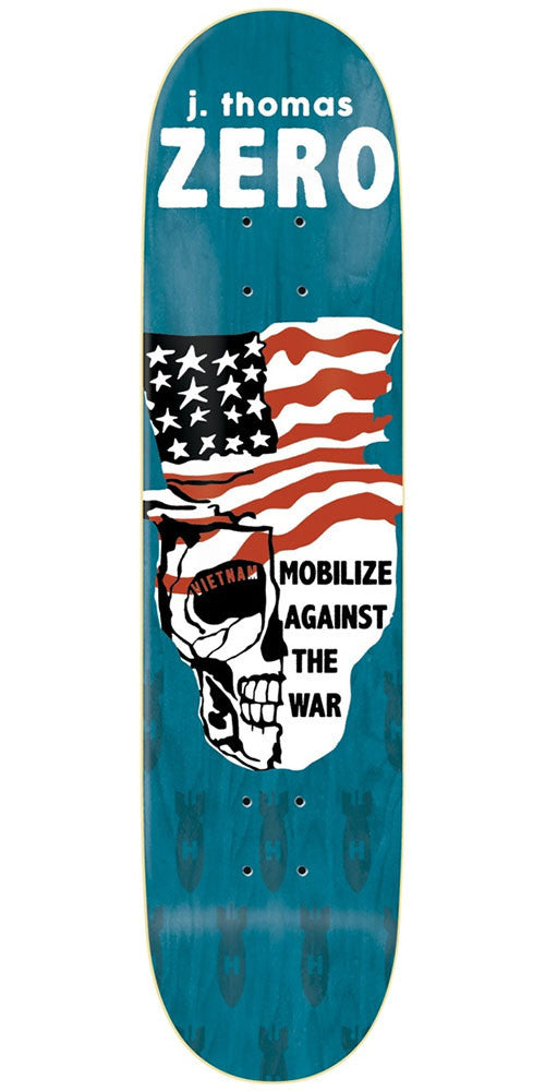 Zero Jamie Thomas Propaganda Series R7 - Blue - 8.5in - Skateboard Deck
