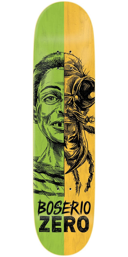 Zero Nick Boserio Alter Ego R7 - Green/Yellow - 8.375in - Skateboard Deck