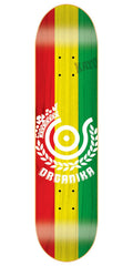 Organika Price Point - Red/Yellow/Green - 7.63 - Skateboard Deck