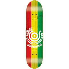 Organika Price Point - Red/Yellow/Green - 7.75 - Skateboard Deck