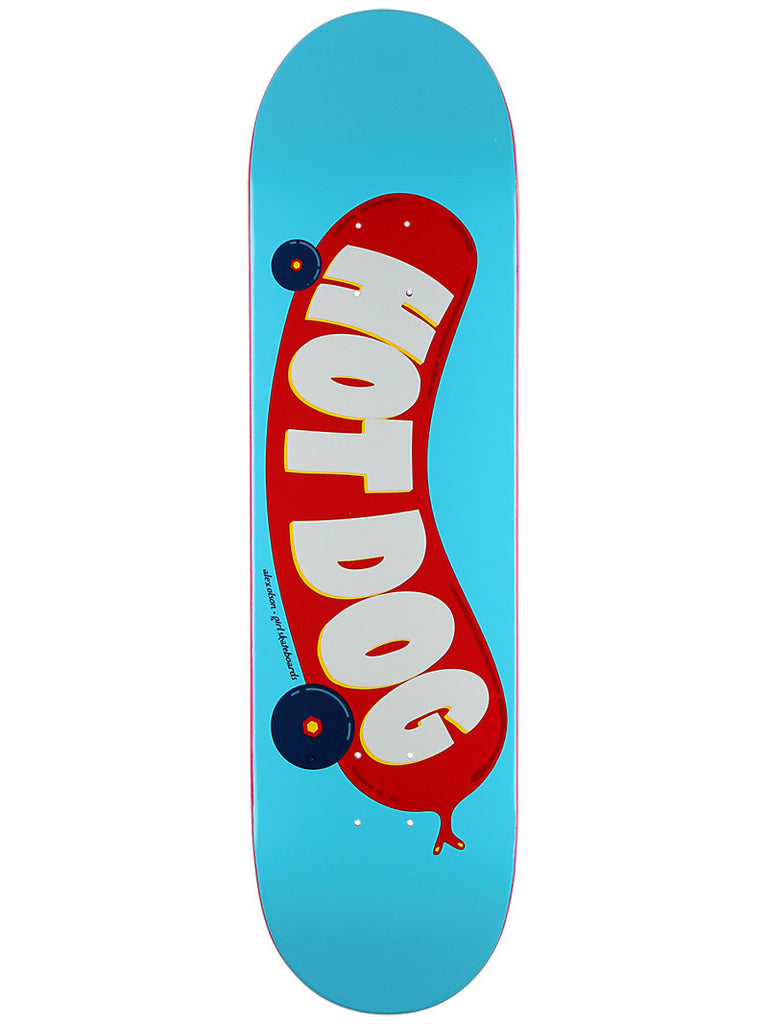 Girl Olson Hot Dog - Blue/Red - 8.375 - Skateboard Deck
