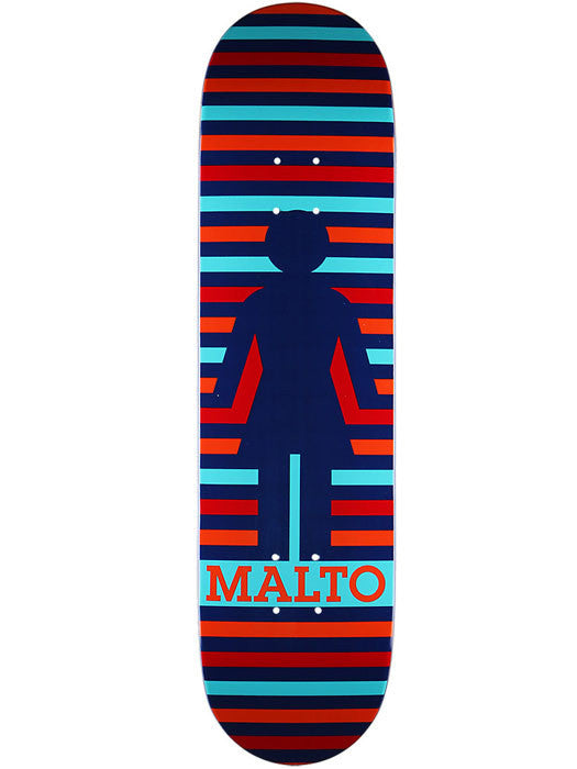 Girl Malto Geo - Blue/Multi - 8.125 - Skateboard Deck