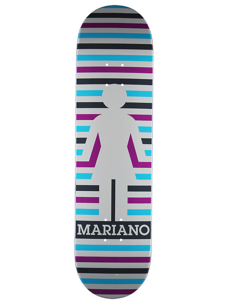 Girl Mariano Geo - White/Multi - 8.125 - Skateboard Deck