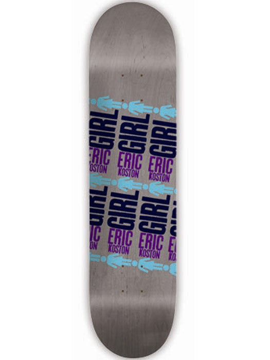Girl Koston Pop Secret 2 - Grey - 8.25 - Skateboard Deck