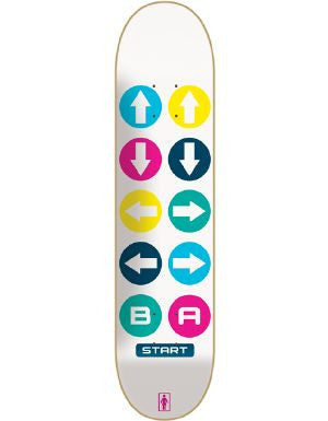 Girl Anderson 30 Lives - White/Multi - 8.5 - Skateboard Deck