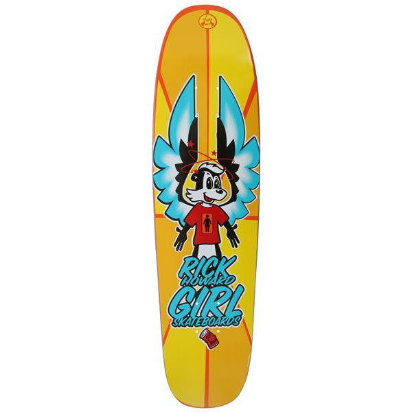 Girl Howard Powerslide #2 - Yellow - 8.125 - Skateboard Deck