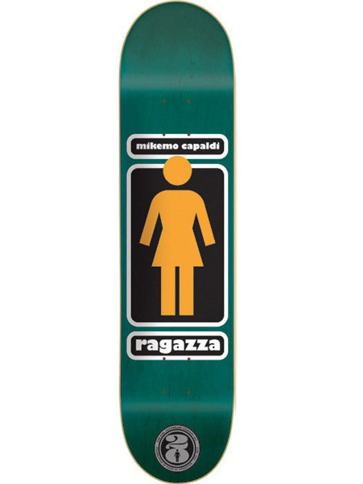 Girl Mike Mo OG OG - Green - 8.0 - Skateboard Deck