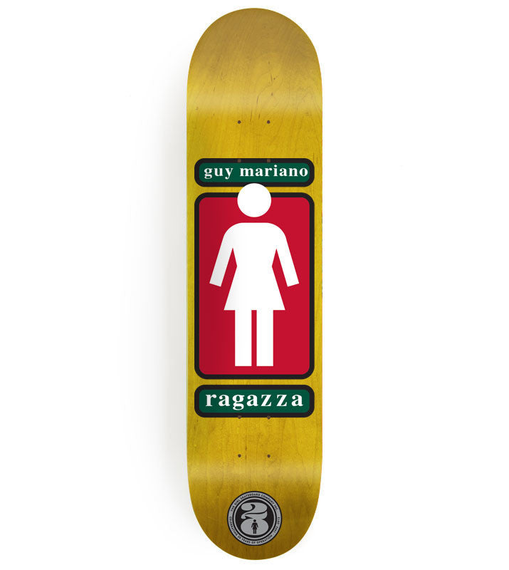 Girl Mariano OG OG - Yellow - 8.125 - Skateboard Deck