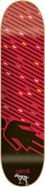 Girl Carroll Oh G's Pop Secret - 8.125 Inch - Red - Skateboard Deck