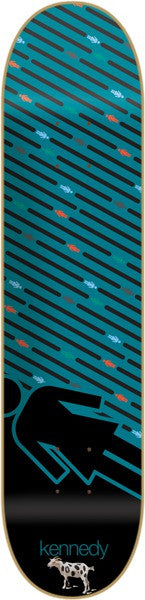 Girl Kennedy Oh G's Pop Secret - 8.0 Inch - Blue - Skateboard Deck