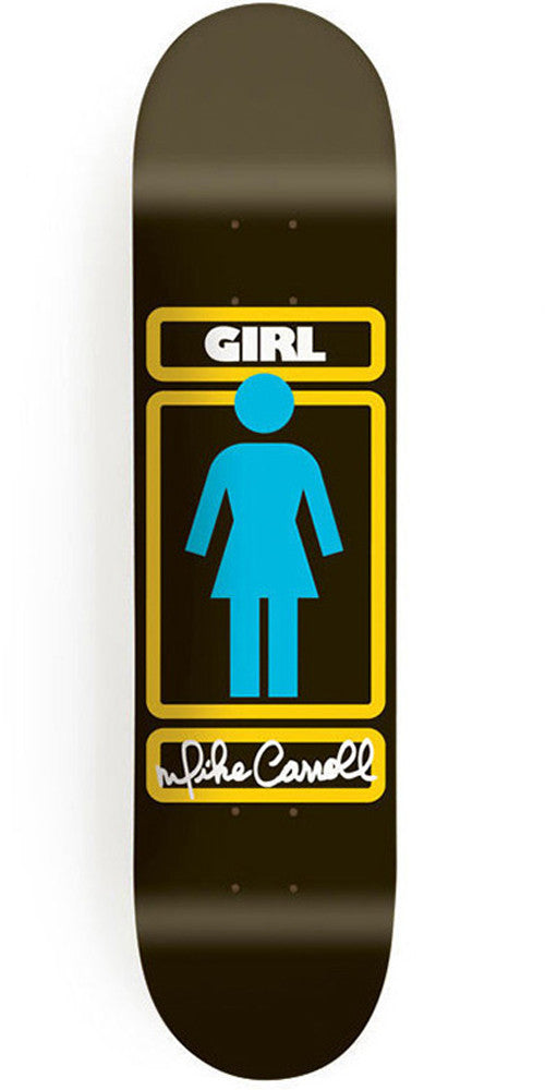 Girl Carroll Sign Here - 8.125 Inch - Black - Skateboard Deck