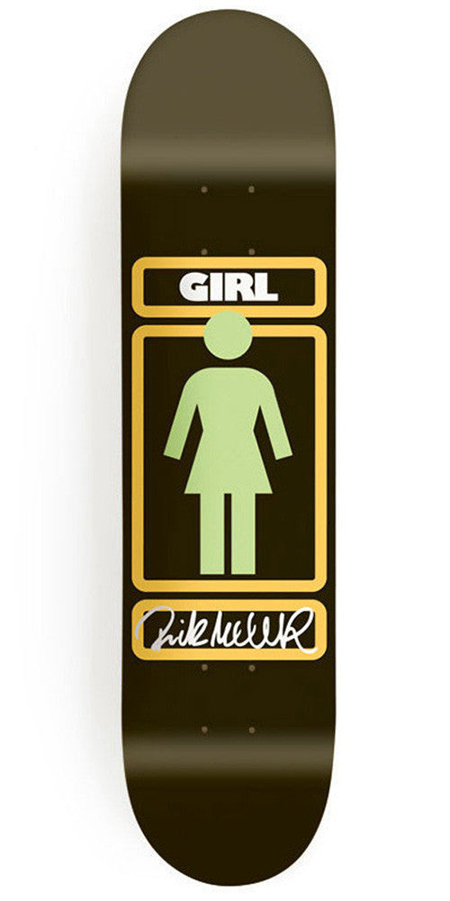 Girl McCrank Sign Here - 8.375 Inch - Black - Skateboard Deck