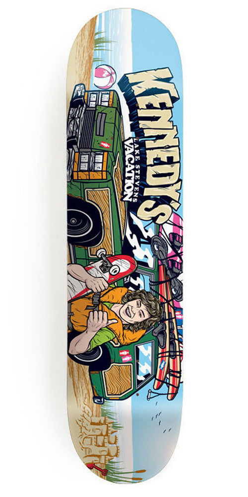 Girl Kennedy Be Kind Rewind - 8.0 Inch - Multi - Skateboard Deck