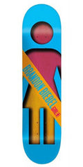 Girl Biebel Half & Half - 7.87 Inch - Assorted - Skateboard Deck