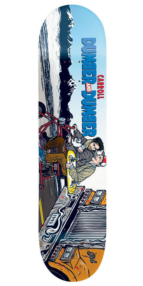 Girl Carroll Be Kind Rewind - Multi - 8.125in - Skateboard Deck