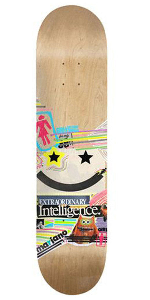 Girl Mariano Mish Mosh - Natural - 8.125in x 31.3in - Skateboard Deck
