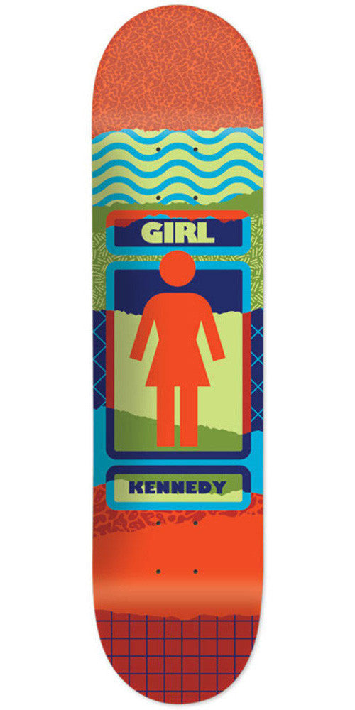 Girl Kennedy Ripped OG - Multi - 8.0in x 31.5in - Skateboard Deck