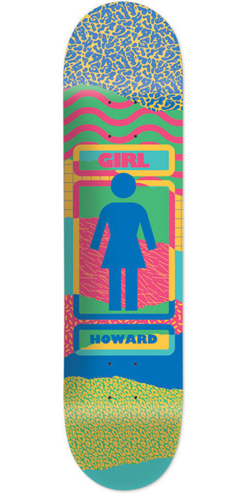Girl Howard Ripped OG - Multi - 8.5in x 31.875in - Skateboard Deck
