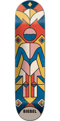 Girl Biebel Totem - Multi - 7.875in x 31.25in - Skateboard Deck