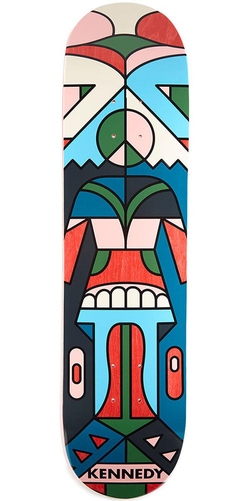 Girl Kennedy Totem - Multi - 8.0in x 31.5in - Skateboard Deck