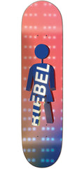 Girl Biebel Future Projections - Peach - 7.875in x 31.25in - Skateboard Deck