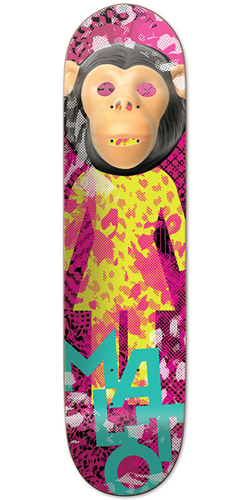 Girl Malto Candy Flip - Multi - 8.125in x 31.625in - Skateboard Deck