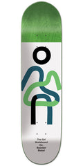 Girl Brandon Biebel Twisted OG - Green - 8.00in x 31.875in - Skateboard Deck