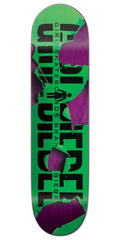 Girl Brandon Biebel Tear It Up - Green - 8.0in x 31.875in - Skateboard Deck