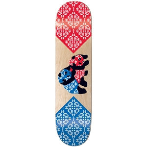 Enjoi Gangbang R7 - Red/Blue - 8.1 - Skateboard Deck