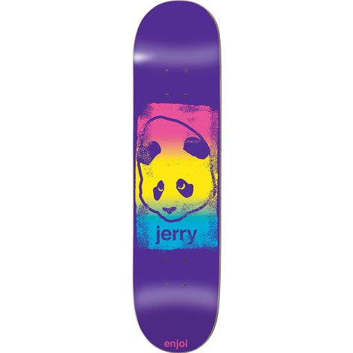 Enjoi Jerry Hsu Printhead R7 - Purple - 8.38 - Skateboard Deck