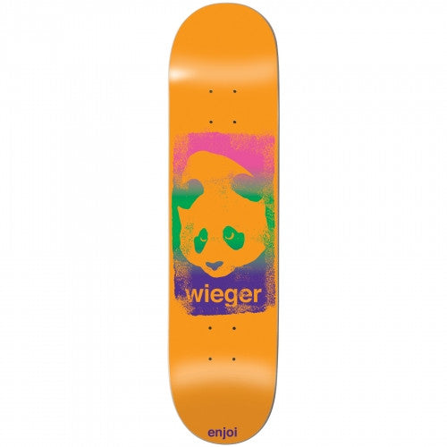 Enjoi Wieger Van Wageningen Printhead R7 - Orange - 8.1 - Skateboard Deck