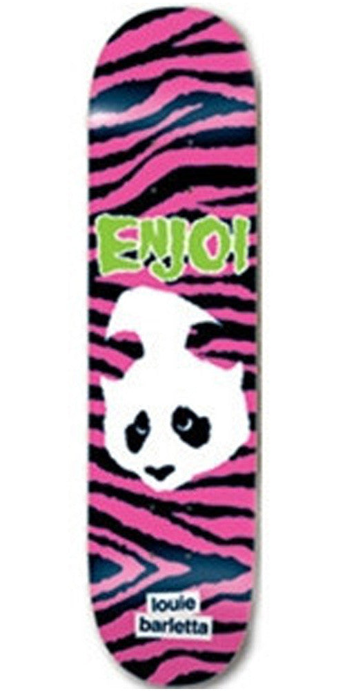 Enjoi Louie Barletta Punk Doesn't Fit Impact - Pink/Black - 8.0 - Skateboard Deck