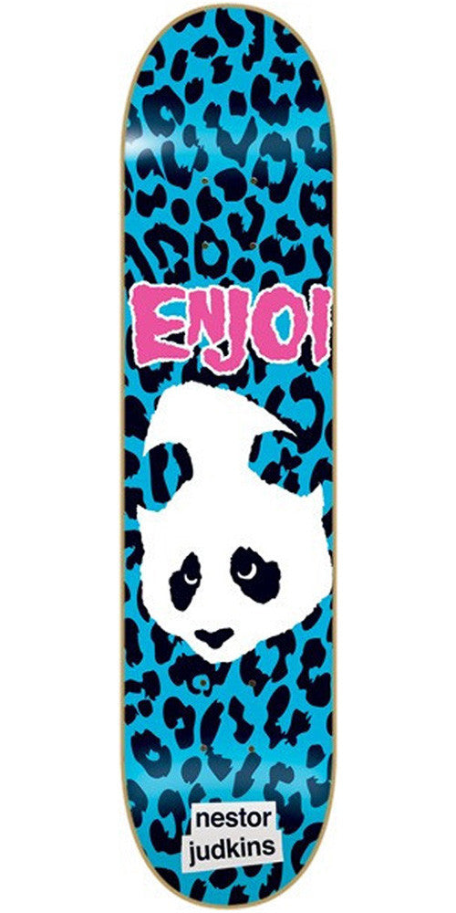 Enjoi Nestor Judkins Punk Doesn't Fit Impact - Blue/Black - 8.3 - Skateboard Deck