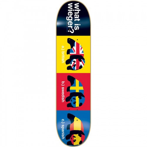 Enjoi Wieger Van Wageningen Nationality R7 - Multi - 8.0 - Skateboard Deck