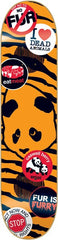 Enjoi Caswell Berry Animal Rights Impact Plus - Black/Orange - 8.0 - Skateboard Deck