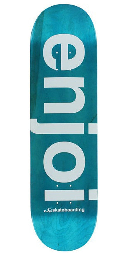 Enjoi Sprayed Spectrum - Blue - 8.38 - Skateboard Deck