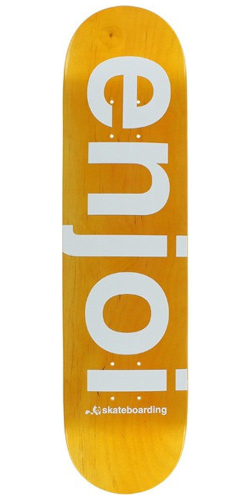Enjoi Sprayed Spectrum - Orange - 7.75 - Skateboard Deck
