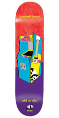 Enjoi Caswell Berry Arcade Machines R7 - Red/Purple - 8.5 - Skateboard Deck
